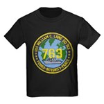 USS WILLIAM C. LAWE Kids Dark T-Shirt