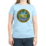 USS WILLIAM C. LAWE Women's Light T-Shirt