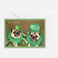 Lana & Annie St Patrick's Day