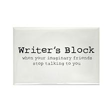Writer's Block Magnet (10 pack)