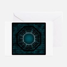 Dharma Logo Numbers Greeting Cards (Pk of 10)