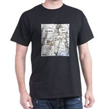 Vitruvian Snow Angel T-Shirt