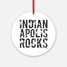 Indianapolis Rocks Ornament (Round)