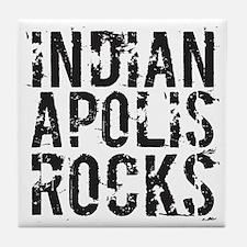 Indianapolis Rocks Tile Coaster