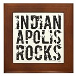 Indianapolis Rocks Framed Tile