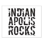 Indianapolis Rocks Small Poster