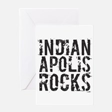 Indianapolis Rocks Greeting Card