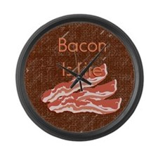 Bacon Is Life Large Wall Clock