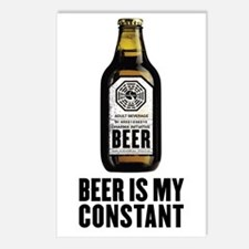 Beer Is My Constant Postcards (Package of 8)