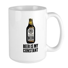 Beer Is My Constant Mug