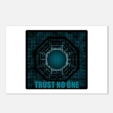 Trust No One Dharma Numbers Postcards (Package of