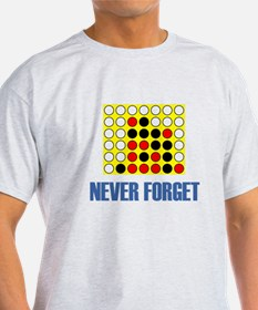 Never Forget Connect Four T-Shirt