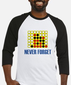 Never Forget Connect Four Baseball Jersey
