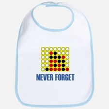 Never Forget Connect Four Bib
