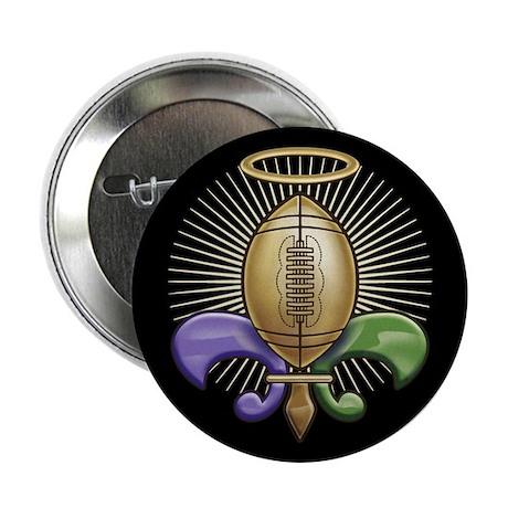 "Heavenly Trophy Fleur 2.25"" Button"