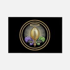 Heavenly Trophy Fleur Rectangle Magnet