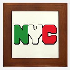 New york Italian Framed Tile