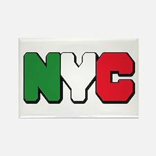 New york Italian Rectangle Magnet