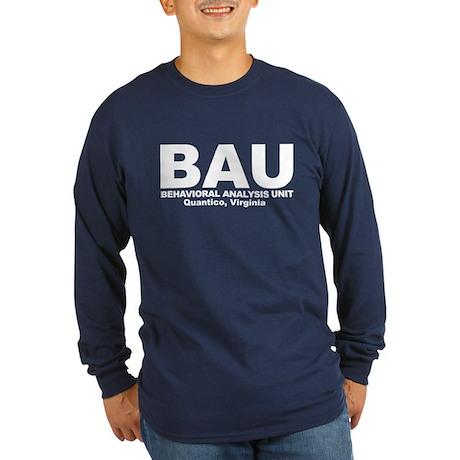BAU Criminal Minds Long Sleeve Dark T-Shirt
