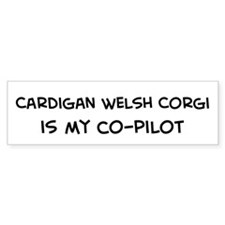 Cardigan Welsh Corgi Bumper Bumper Sticker