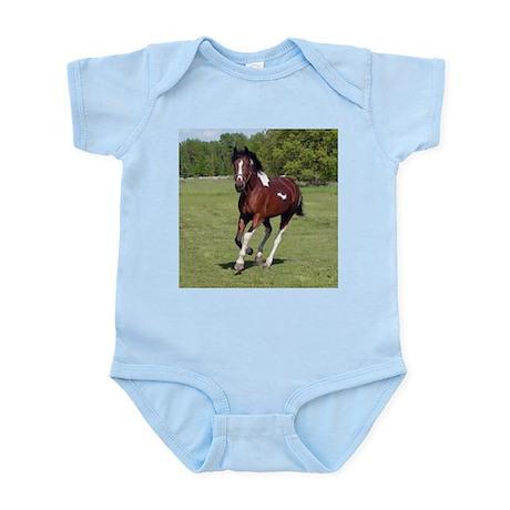 Pinto Foxtrotter Infant Creeper