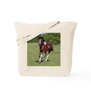 Pinto Foxtrotter Tote Bag