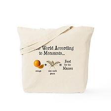 GM Foods Tote Bag