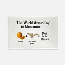 GM Foods Rectangle Magnet
