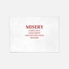 misery 5'x7'Area Rug