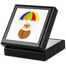Cute Cartoon Parachuter Keepsake Box