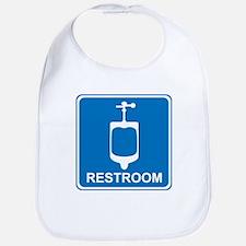 Restroom Sign 2 Bib