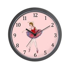 Ballerina-latida Wall Clock