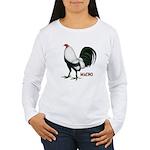 Macho Duckwing Gamecock Women's Long Sleeve T-Shir
