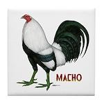 Macho Duckwing Gamecock Tile Coaster