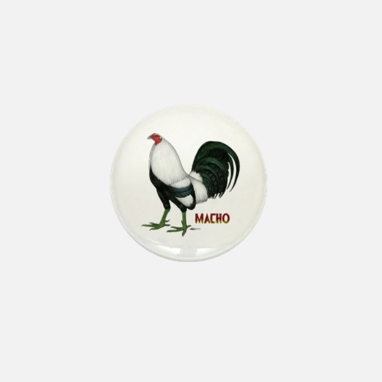 Macho Duckwing Gamecock Mini Button