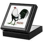 Macho Duckwing Gamecock Keepsake Box