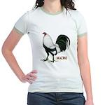 Macho Duckwing Gamecock Jr. Ringer T-Shirt