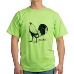 Macho Duckwing Gamecock Green T-Shirt