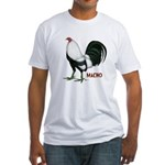 Macho Duckwing Gamecock Fitted T-Shirt