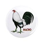 """Macho Duckwing Gamecock 3.5"""" Button (100 pack"""