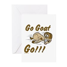 Funny Go Goat GO Greeting Cards (Pk of 20)