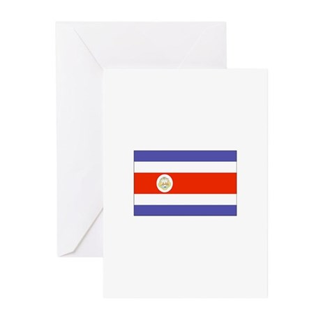 Costa Rica Greeting Cards (Pk of 10)