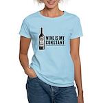 Wine Is My Constant Women's Light T-Shirt