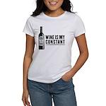Wine Is My Constant Women's T-Shirt