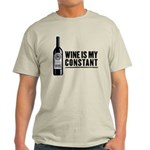 Wine Is My Constant Light T-Shirt