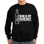 Wine Is My Constant Sweatshirt (dark)