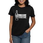 Wine Is My Constant Women's Dark T-Shirt