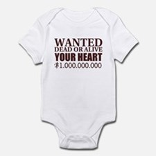 WANTED BROWN Infant Bodysuit