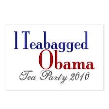 Teabag Obama 2010 Tea Party Postcards (Package of
