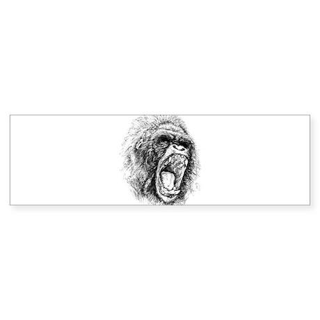 ape final Bumper Sticker